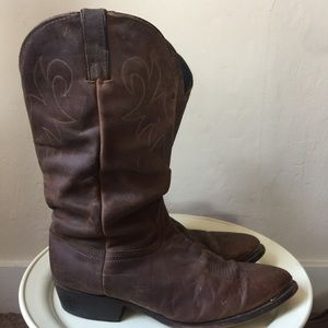 Durango Cowboy Boots with Engraved Tips